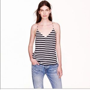 J. Crew TALL Lined Carrie Silk Camisole Top